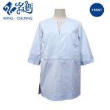 Оптовая торговля летом высшего качества женщин хлопка дамы шифон кофта блуза