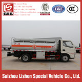 5000L Fuel Tanker 5 CBM Capacity 5 Ton Oil Truck Bowser Mobile Fuel Station