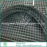 Plataforma Grating de aço galvanizada Shaped diferente do MERGULHO quente