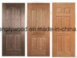 Piel a prueba de humedad de la puerta del MDF de la piel/del verde del panel de la puerta de HDF