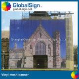 Im Freienzaun-Fahne Shanghai-Globalsign, Vinylineinander greifen-Fahnen (M99N)