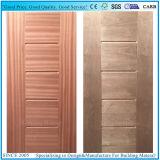 高品質暗いWailutか自然なSapelliによって張り合わせられるHDFのドアの皮