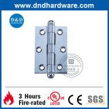 Dobradiça da ponta da ferragem da porta do aço inoxidável com certificado do UL (DDSS045)