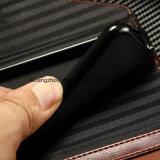 Функции красный и черный сшивка Wallet модели PU случае телефона из натуральной кожи