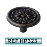 Цинкового сплава мебель кабинета ящик кухня Потяните ручки (HP323)