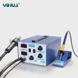Большая сила 2 в 1 станции паяя утюга Rework горячего воздуха Yihua 872d+
