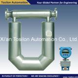 Medidor de caudal másico de Coriolis precisión líquido para Heavy Fuel Oil