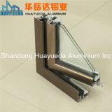 Châssis de fenêtre en aluminium/matériau guichet de tissu pour rideaux et d'aluminium de porte