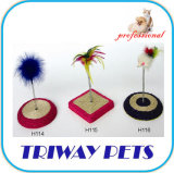 Juguete fácil del gato del ratón de la felpa del arreglo (A109-A111)