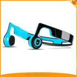 耳の無線骨導のヘッドホーンのBluetoothのスポーツのヘッドセットを開きなさい(青い)