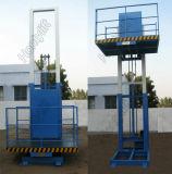 Ascenseur de levage de contrôle de fil de cargaison verticale multipoint à chaînes de longeron