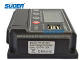 Regulador solar regulador solar 12V 10A para el uso casero regulador solar con salida USB 5V 1A (ST-W1210)