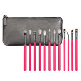 12pzas Cosmetic Eye Brush set con funda (ST1204)