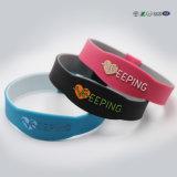 Wristband do silicone de NFC RFID/Tag impermeáveis do bracelete para esportes