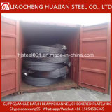 Bon marché de l'exportation d'armature en acier de construction déformé