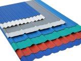 Lamiera di acciaio ondulata del tetto per materiale da costruzione