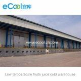 De grote Grootte paste Pakhuis van het Vruchtesap van de Lage Temperatuur Het Verse Houdende Koude aan