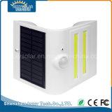Indicatore luminoso astuto della parete di energia solare LED con il sensore
