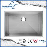 Dissipador de cozinha Handmade do aço inoxidável de Undermount da bacia de um Upc de 32 polegadas único (ACS3218A1)