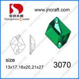 Dz-3070 Moda Coser sobre piedra accesorios para el comercio al por mayor