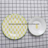 Western New Style populaire jeu de la vaisselle en porcelaine