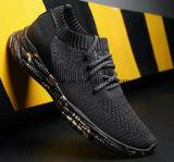 Deportes de moda zapatillas zapatos con Flyknit ejecuta la parte superior para hombres y mujeres (862)