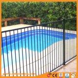 Zugelassenes Schwarzes oder Primel-Pool-Zaun-flache Oberseite. Glas-oder Garten-Fechten