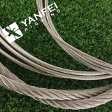 스테인리스 /AISI304 또는 기중기를 위한 316 철강선 밧줄