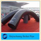 Grande curvatura da curvatura de tubulação 90deg3d do encaixe de tubulação do tamanho 5D 7D