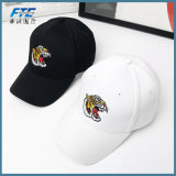 Alta qualidade de algodão unissexo Hat Bordados Boné Tigre