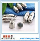 Горячий сильные магнитные зажимы для ожерелья браслет Цепь преднатяжителя плечевой лямки ремня крюк
