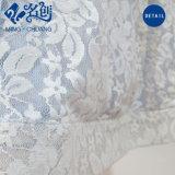 Graciosa Double-Deck blanco bordado fino vestido de moda