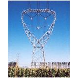 コミュニケーションおよび送電のための格子角タワー