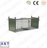 Compartimento de interceptação de esquilo galvanizado, Gato Coelho // Dog/animal da gaiola de interceptação
