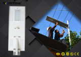 lâmpadas solares da fixação 70W externa solar com o sensor do detetor de movimento