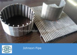 Экран Johnson провода Wedg нержавеющей стали для сетки