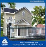 Светлая дом виллы стальной структуры полуфабрикат роскошная
