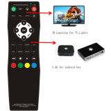 2.4G y el control remoto IR para ambos STB y TV