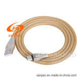 Het Laden van de Verkoop van de fabriek de Directe type-C2.0 Gevlechte Kabel van Gegevens
