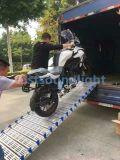 단계 장비를 위한 경사로를 내리는 접히는 트럭 트레일러 알루미늄 선적
