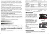 Silla de rueda derecha eléctrica (THR-FP129)