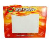 Magnete di carta del frigorifero stampato abitudine della scheda di scrittura
