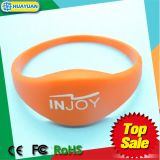 13.56MHz ISO14443A MIFARE EV1 Ultralight NFC RFID Waterproof o bracelete do silicone