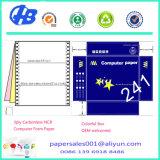 Continua de 2 capas de papel autocopiativo papel de imprenta