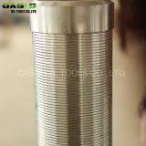 Schermo spostato tessuto continuo della rete metallica dell'acciaio inossidabile della scanalatura 1.0mm