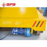 トレーラー(KPT-25T)を扱う重工業の使用の鉄道