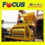Misturador concreto do eixo de Js1000 1m3 dois
