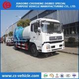 糞便Dongfengの下水道のクリーニングのトラック8000Lの真空か下水の吸引のトラック