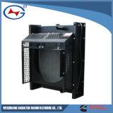 6BTA-12 Weichuang Cummings Generatgor 냉각 열교환기 주문을 받아서 만들어진 방열기
