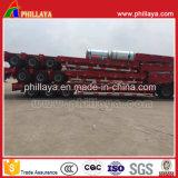 Rimorchio resistente di 3-Line-6-Axle 100t Lowbed semi